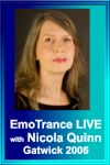 EmoTrance Personal Experience Day Live Recordings 2006 by Nicola Quinn
